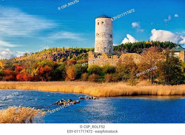 Stegeborg castle in Sweden