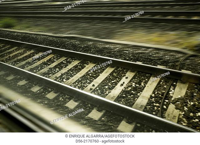 Railways from Vicenza to Venice, Italy