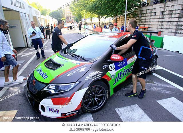 J. Rodrigues, Honda Civic TCR #26, WTCR Race of Portugal 2018, Vila Real