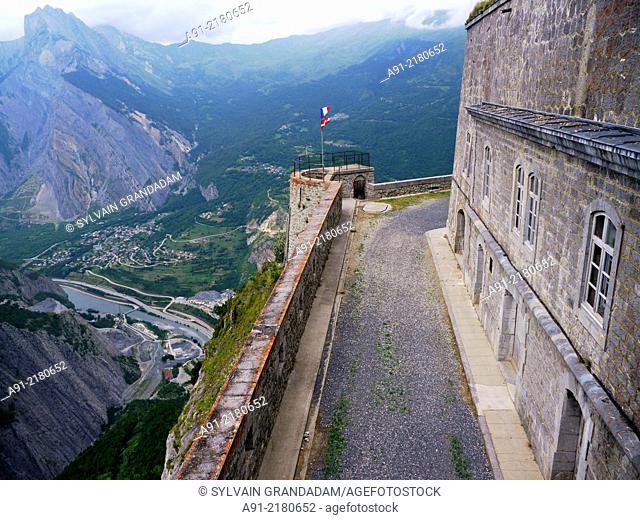 France, Savoie, Valloire neighbourhood, the telegraph fortress