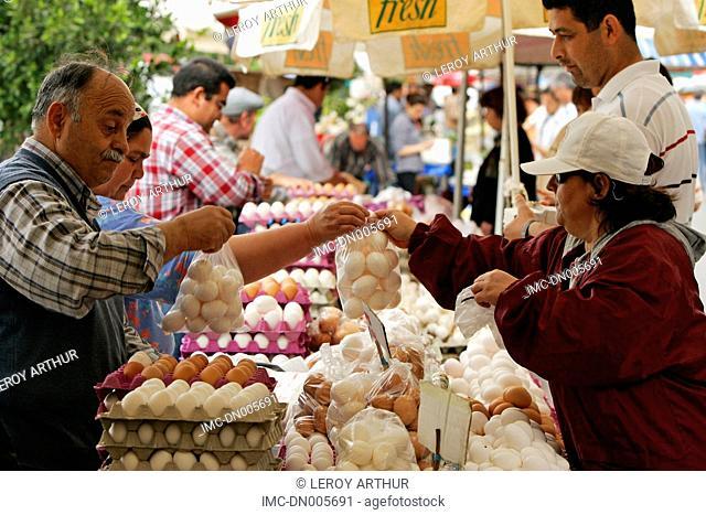 Turkey, Antalya, market