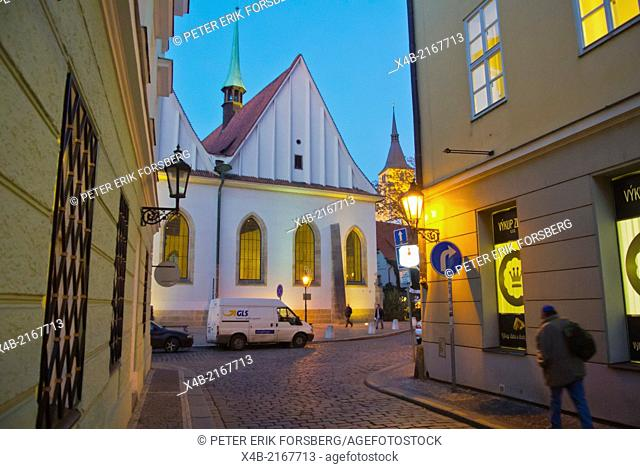 Betlemska kaple Bethlehem chapel, Betlemske namesti square, Stare mesto, the old town, Prague Czech Republic Europe