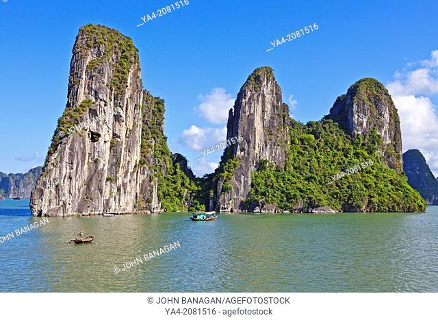Halong Bay, Quang Ninh, Vietnam, South-East Asia, Asia