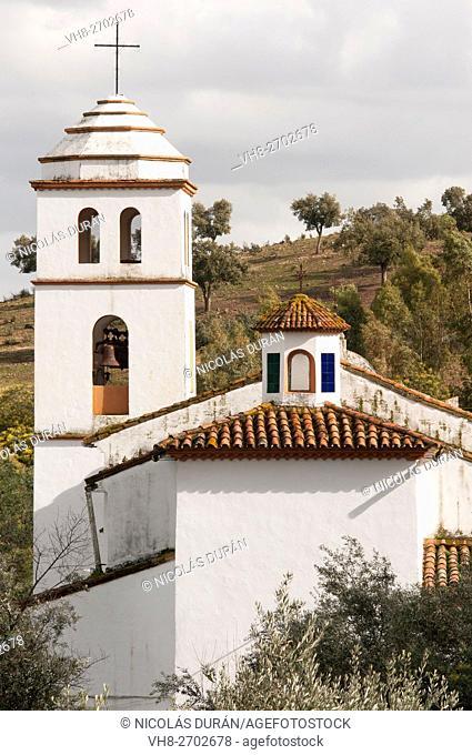 Little church in Arronches. Alentejo. Portugal