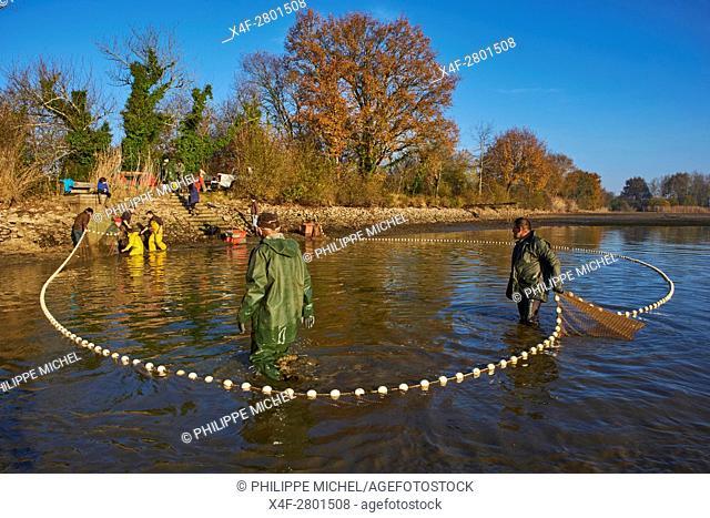 France, Indre (36), le Berry, Brenne, natural park, fishing at the ponds, Julien Darreau