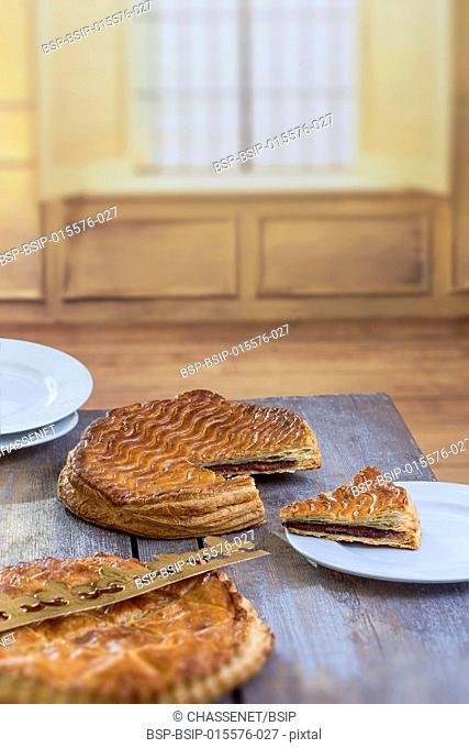 French epiphany tart, Galette des Rois