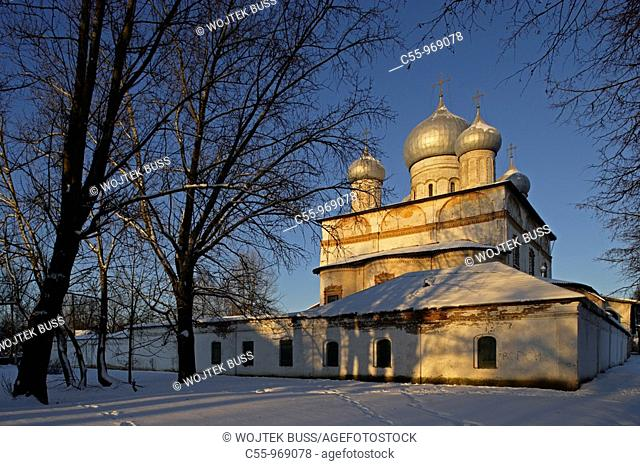 Cathedral of Our Lady of the Sign, Commercial Quarter, Veliky Novgorod, Russia