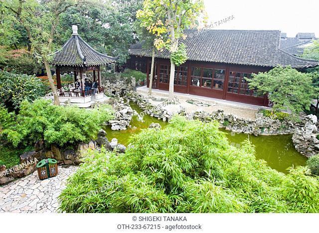 Geyuan garden, Yangzhou, Jiangsu Province, China