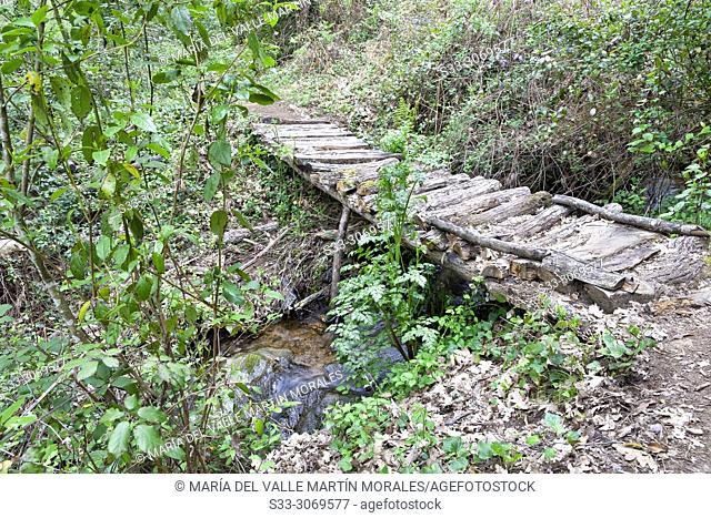 Bridge at the Fishermen path. Avila. Spain