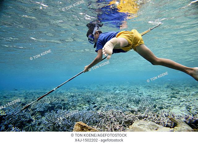 snorkeling in Tuvalu