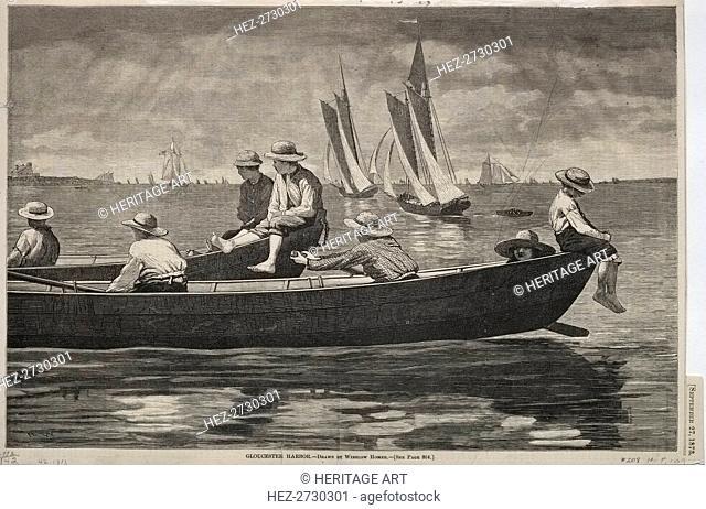 Gloucester Harbor, 1873. Creator: Winslow Homer (American, 1836-1910)