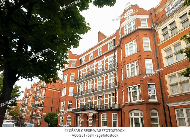 -Building in Earl's Court Zone- London United Kingdom