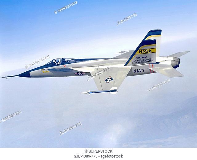 YF-17 in Flight