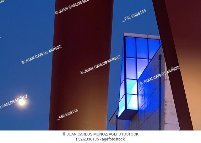 Artium, Contemporary art museum, Vitoria, Alava, Basque Country, Spain, Europe