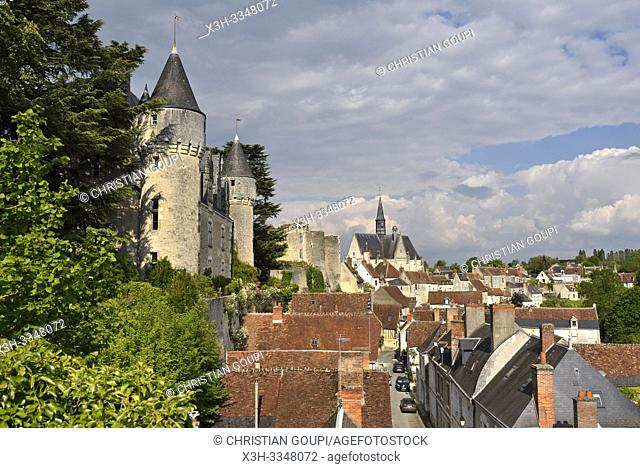 Chateau of Montresor, Touraine, department of Indre-et-Loire, Centre-Val de Loire region, France, Europe
