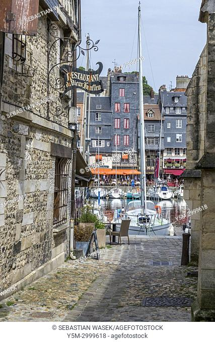 Honfleur, Calvados, Normandy, France, Europe