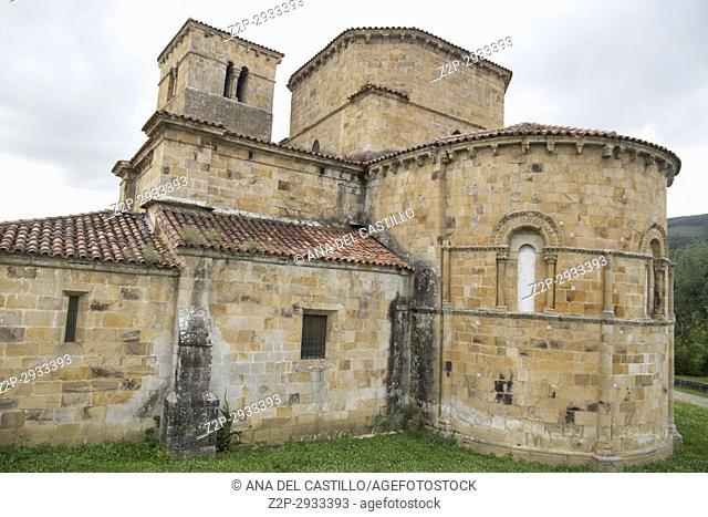 Castaneda Collegiate church Cantabria, Spain