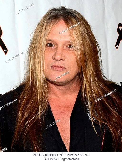 "Sebastian Bach arrives at the 3rd Annual """"Bowl 4 Ronnie"""" Celebrity Bowling Tournament, benefiting the """"Ronnie James Dio Stand Up and Shout Cancer Fund fund""""..."