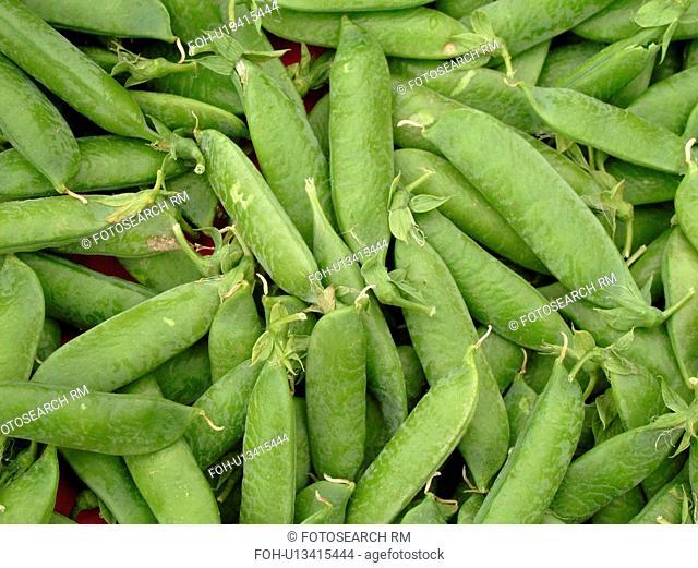 Montpelier, VT, Vermont, Farmer's Market, shell peas