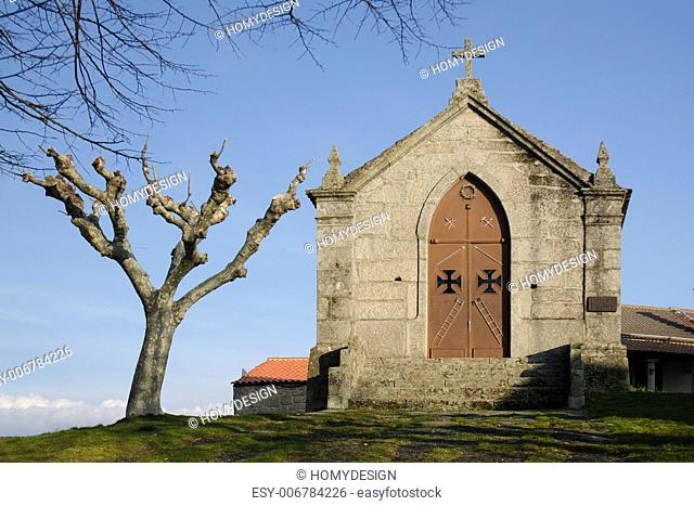Calvary Chapel, Belmonte - Portugal, exemplar of nineteenth-century revival of Gothic Revival architecture