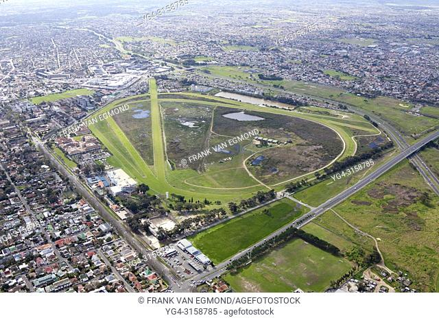 Kenilworth Race Course Aerial, Cape Town, South Africa