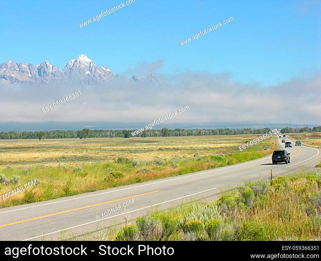 Nature of Grand Teton National Park, Wyoming