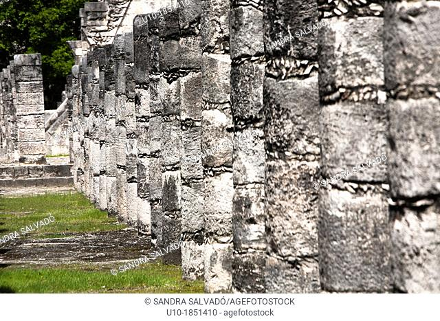 Archeological site Chichén Itzá, Yucatan Peninsula, Mexico