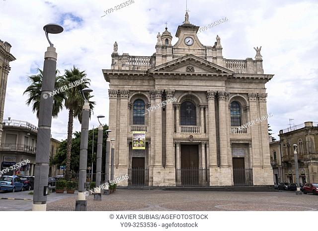 Church of Saint Pietro, Riposto, Catania, Sicily, Italy