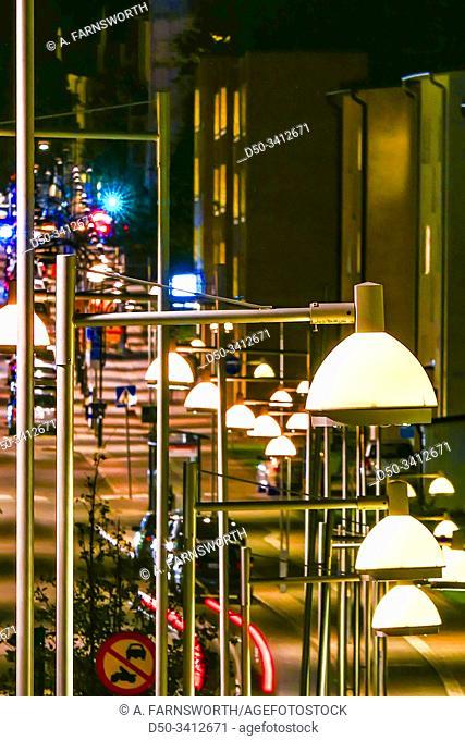 Stockholm, Sweden The main street in Hagersten or Hagerstensvagen