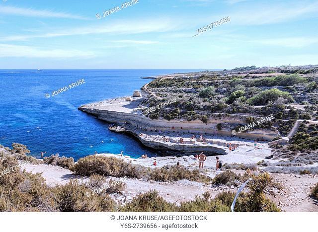 St Peter's Pool, Marsaxlokk, Malta