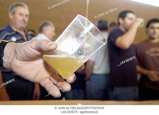 Cider. Euskadi