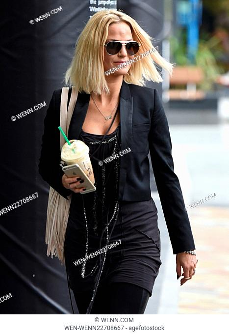 Sarah Harding at MediaCityUK Featuring: Sarah Harding Where: Manchester, United Kingdom When: 21 Jul 2015 Credit: WENN.com