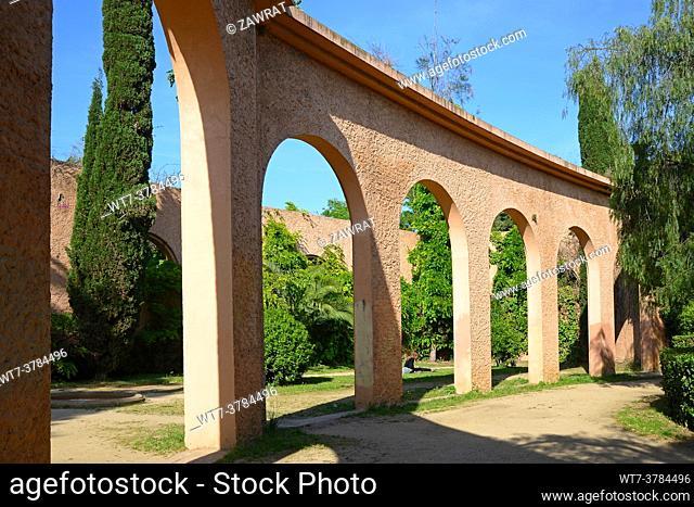 Brick structure, brickwork