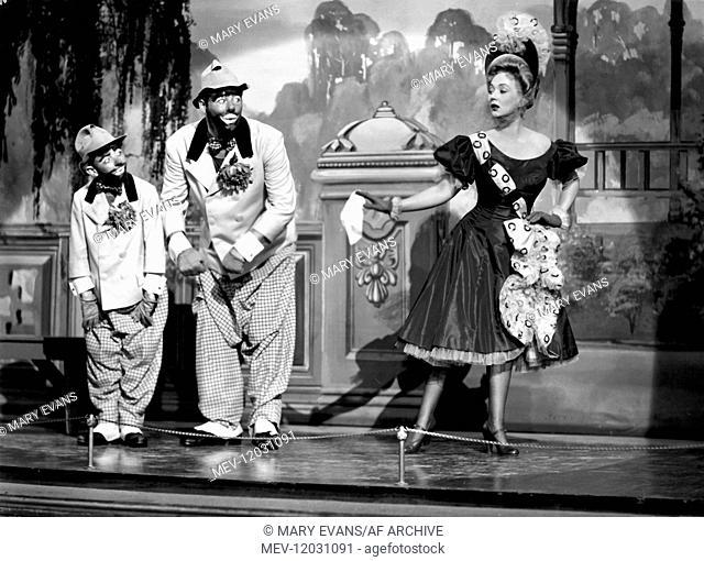 Robert Ellis, Jack Carson & Ann Sothern Characters: Buster Tyme, Joe Tyme, June Tyme Film: April Showers (1943) Director: James V. Kern 27 March 1948