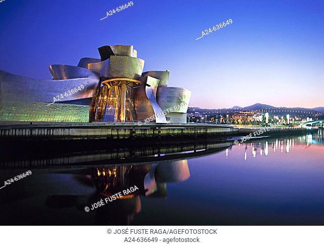 Guggenheim Museum, Bilbao. Biscay, Euskadi, Spain (April 2007)