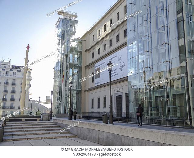 Reina Sofía Museum. Madrid, Spain