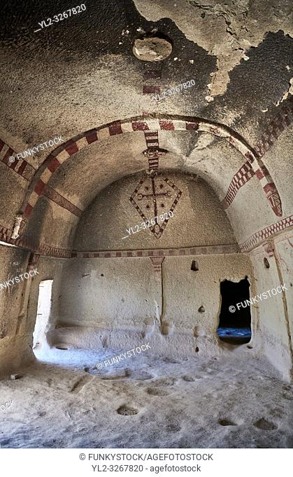 Pictures & images of Aynali Kilise (Church) cave church interior frescoes, iconoclastic period (725-842), near Goreme, Cappadocia, Nevsehir, Turkey