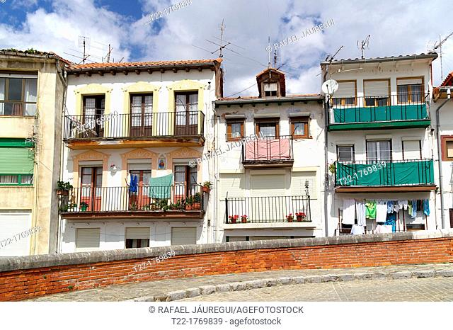 Castro Urdiales Cantabria Spain  Fishing district of the town of Castro Urdiales