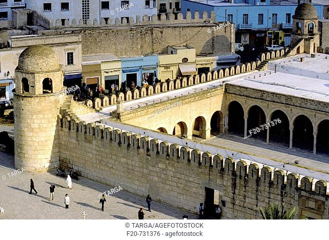 Great Mosque in the medina, Sousse, Tunisia