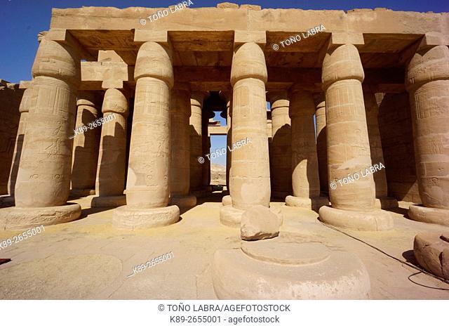 Ramesseum. Luxor. Upper Egypt