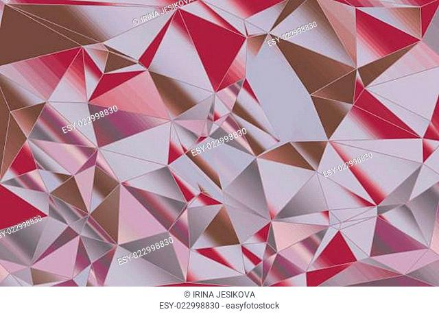 abstract pattern of triangles