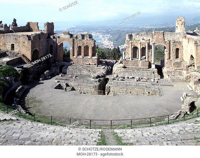 Taormina, antikes Theater