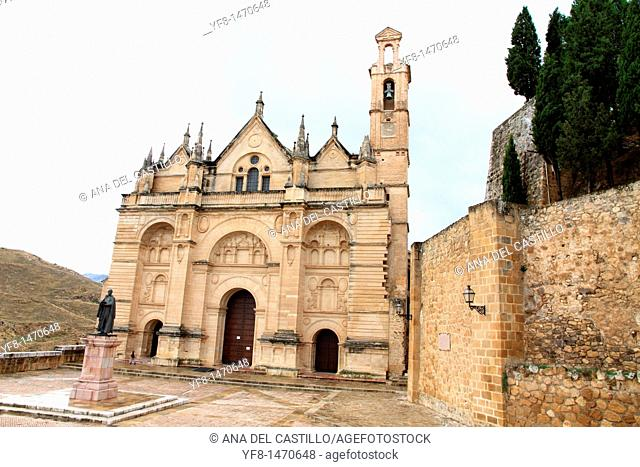 Church in Antequera town, Malaga province, Andalusia, Spain