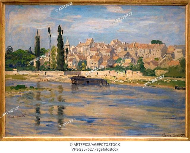 Claude Monet . Carrieres-Saint-Denis . 1872. XIX th century . Orsay Museum - Paris
