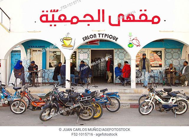 Douz Town. Desert of Southern Tunisia. Tunez. Africa