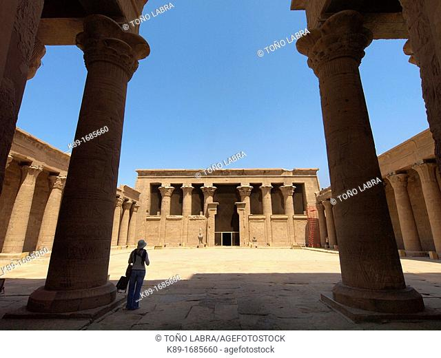 Edfu Temple dedicated to Horus, High Egypt