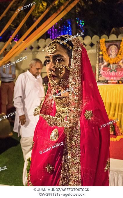Diwali, Hindu festival of lights, Jaipur, Rajasthan, India
