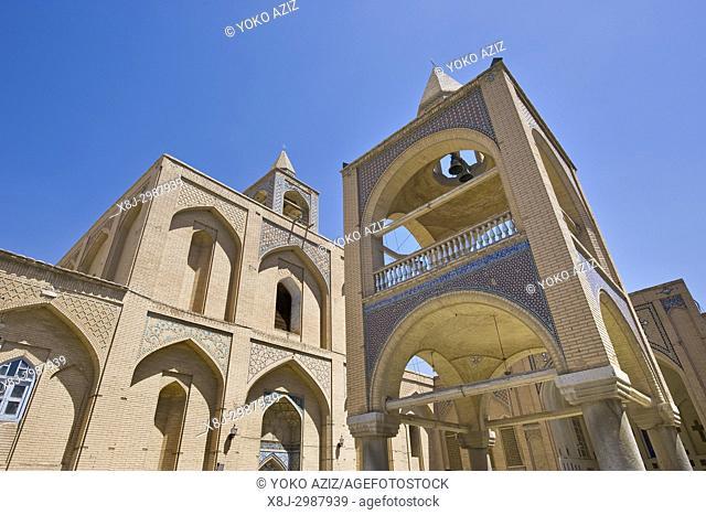 Iran, Isfahan, Armenian quarter, Vank cathedral