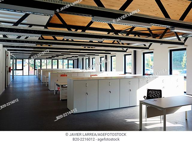 Empty office. Science and Technology Park of Bizkaia. Zamudio. Bizkaia. Basque Country. Spain