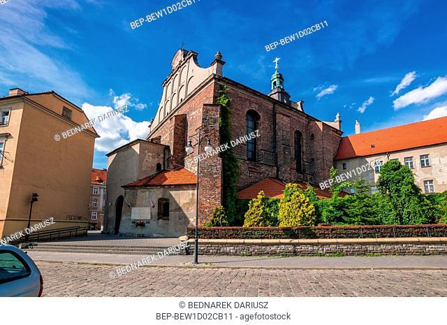 The Franciscan monastery complex from 1256. Kalisz, Greater Poland Voivodeship, Poland